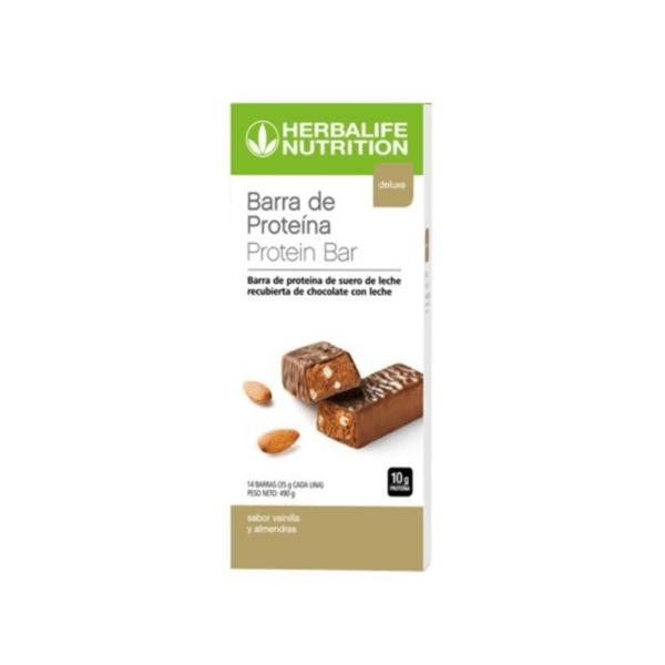 Barras con Proteína Herbalife sabor Vainilla y Almendras